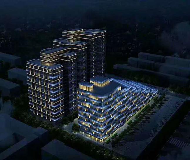 上海楼面灯光