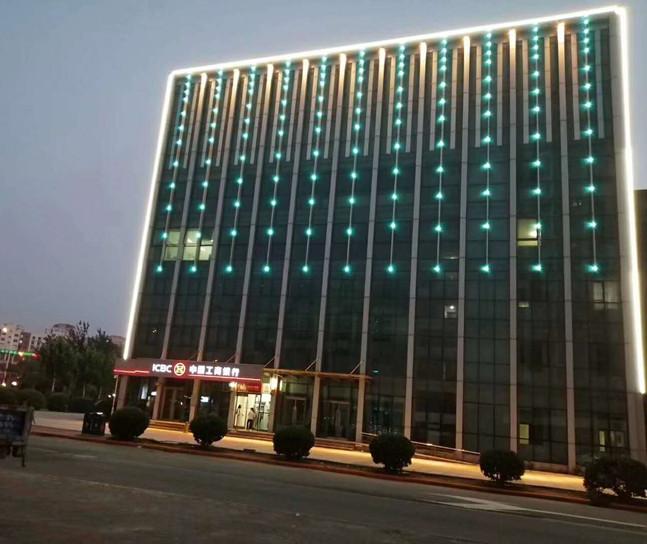 楼宇广告灯光